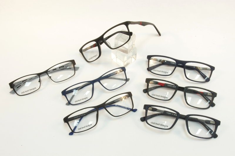 Club Level Design Men's Eyeglass Frames